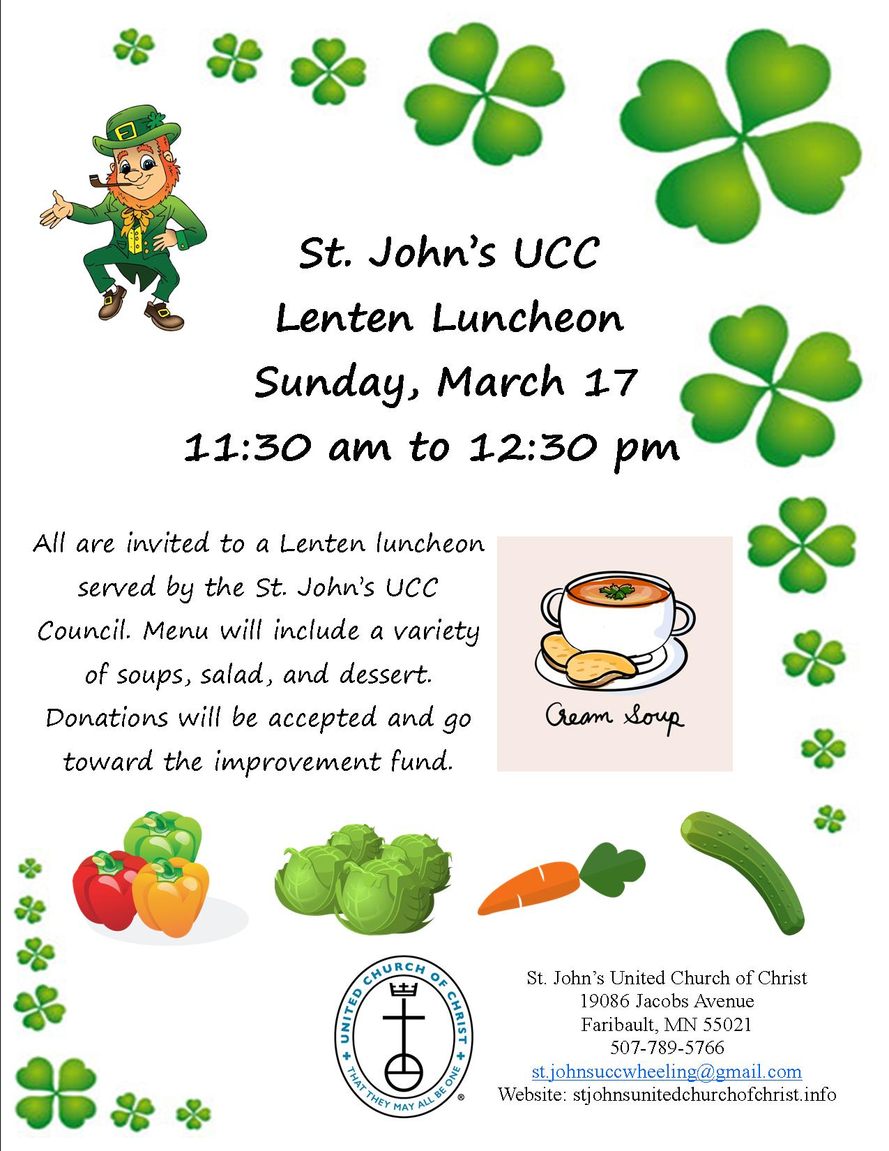 Lenten Luncheon