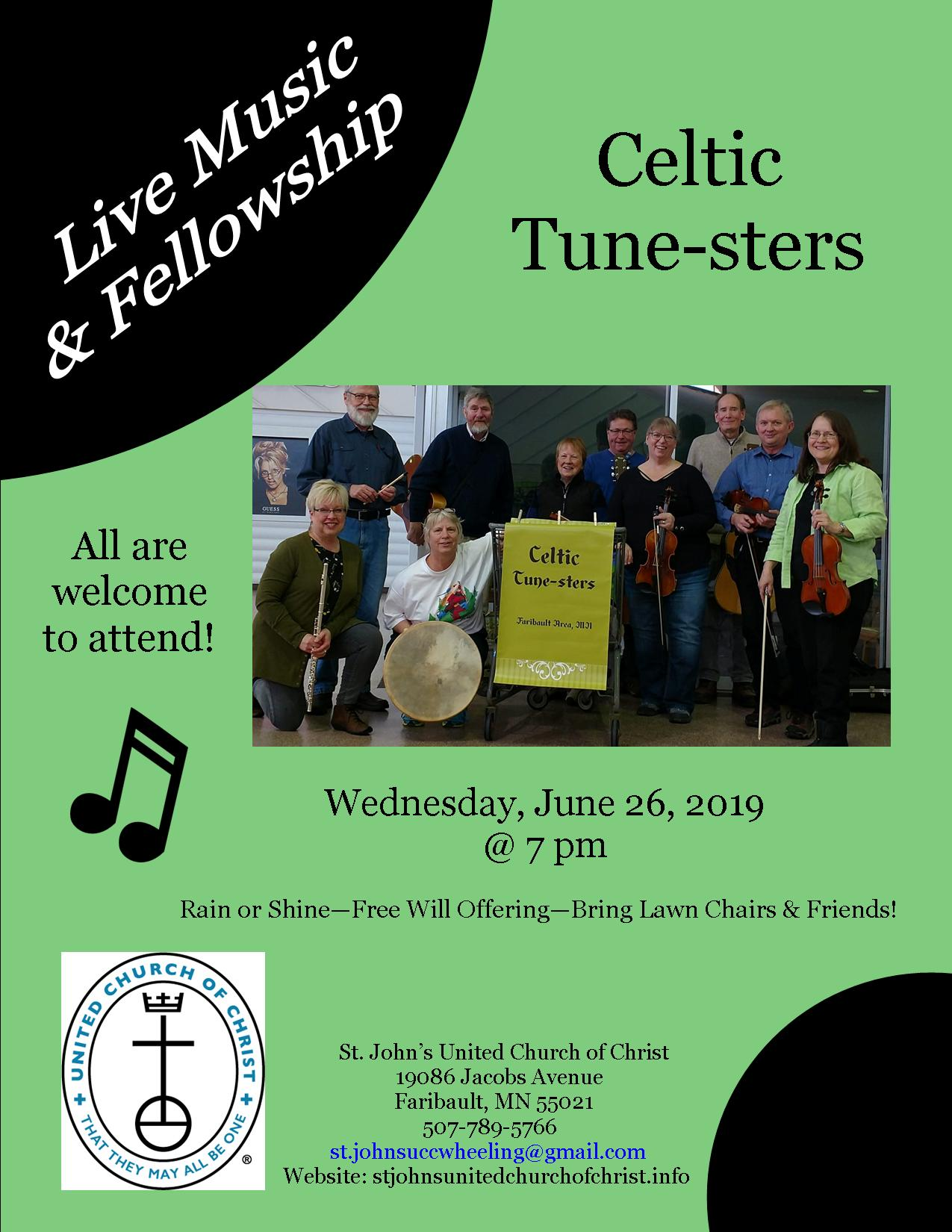 Celtic Tune-sters: Music & Fellowship