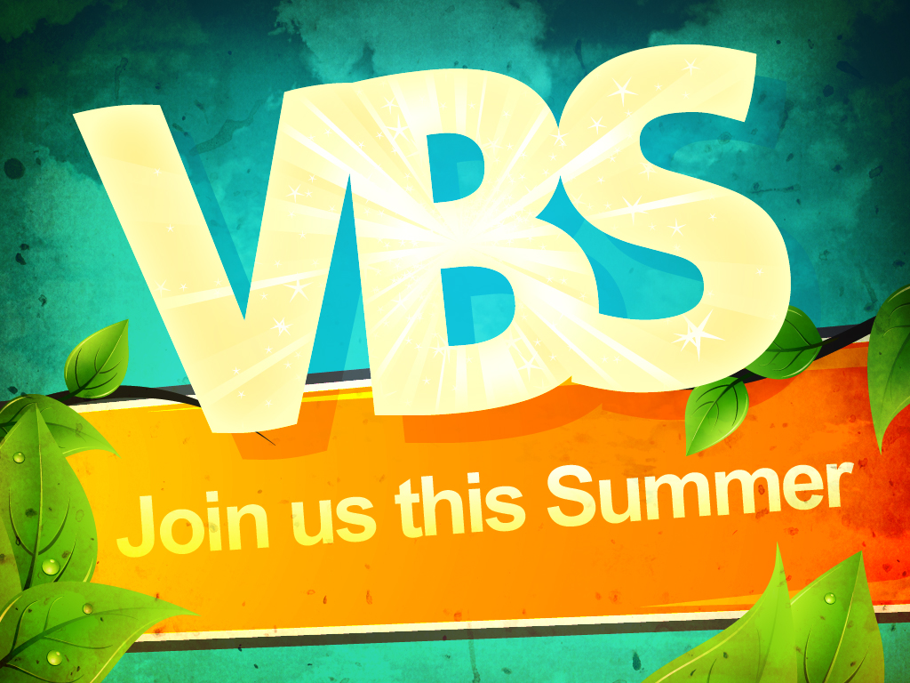 Just Announced! Vacation Bible School 2020