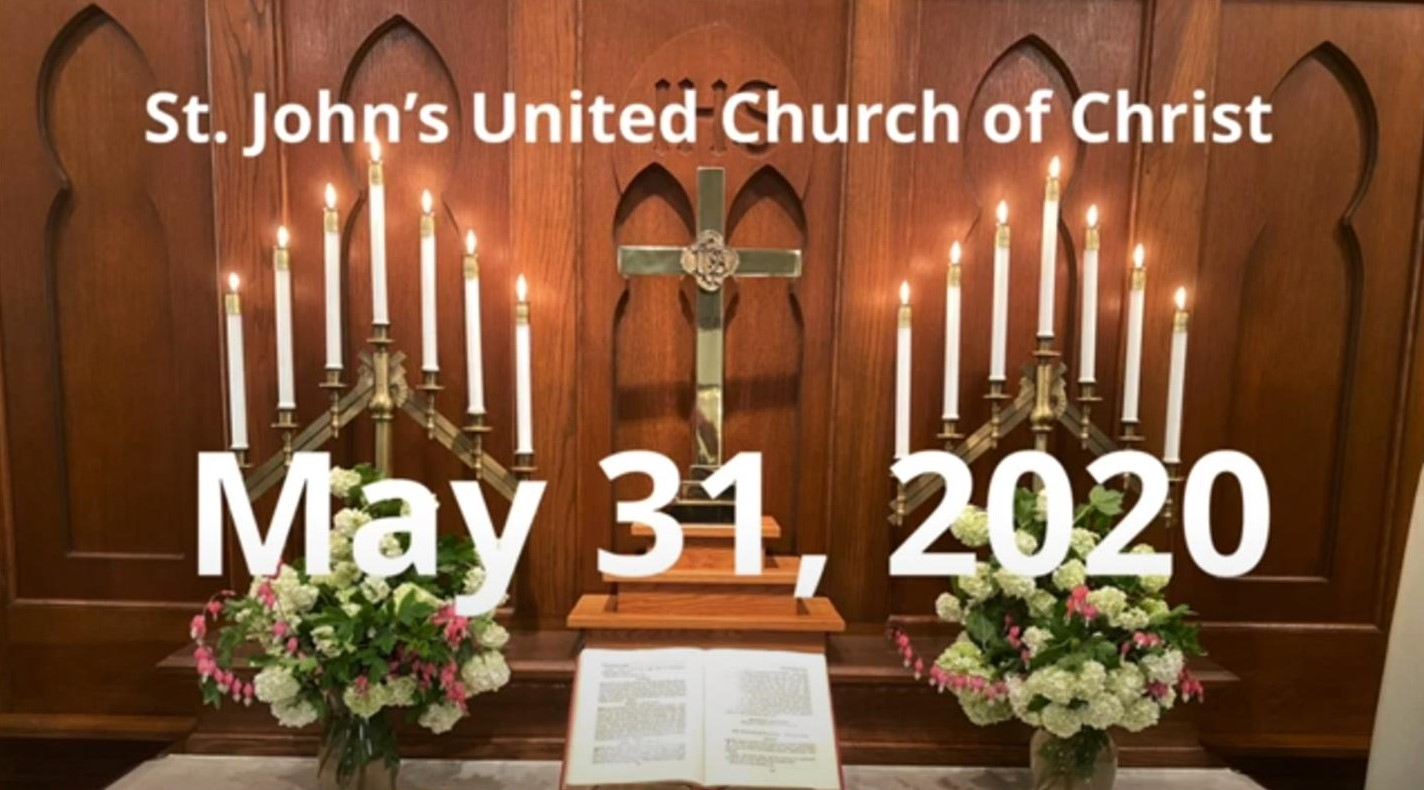 Worship Service for 5/31/20