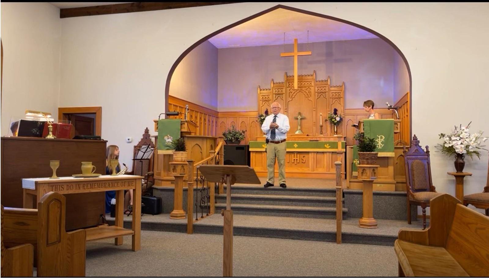 Worship Service 8/15/21