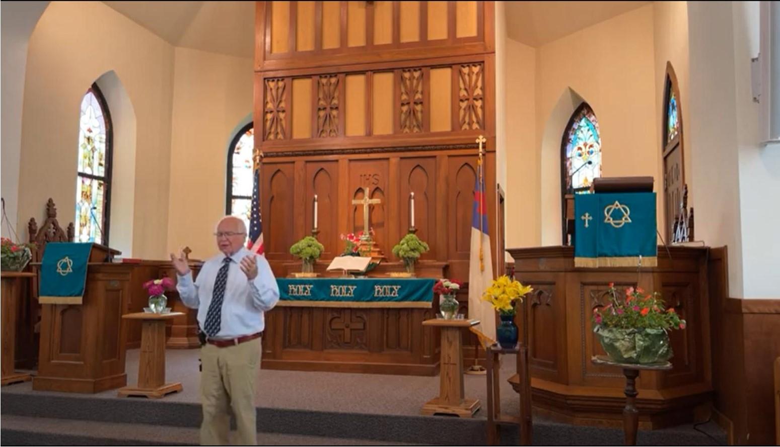 Worship Service 8/22/21
